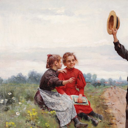 The 14th of July - César Pattein (1850-1931) - Paintings & Drawings Style