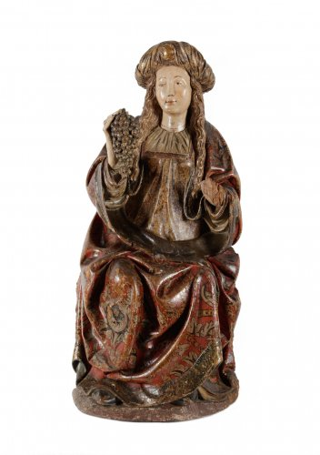 The holy Virgin - Spanish school late 15th century