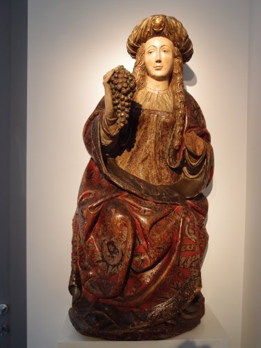 The holy Virgin - Spanish school late 15th century -