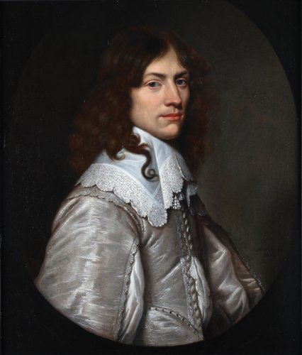 Portrait of a young man - Jacob Fransz van der Merck (1610-1644)