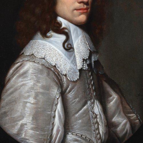 Paintings & Drawings  - Portrait of a young man - Jacob Fransz van der Merck (1610-1644)