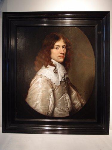 17th century - Portrait of a young man - Jacob Fransz van der Merck (1610-1644)