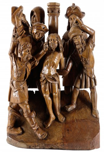 The mocking of Christ  - Sculpture Style