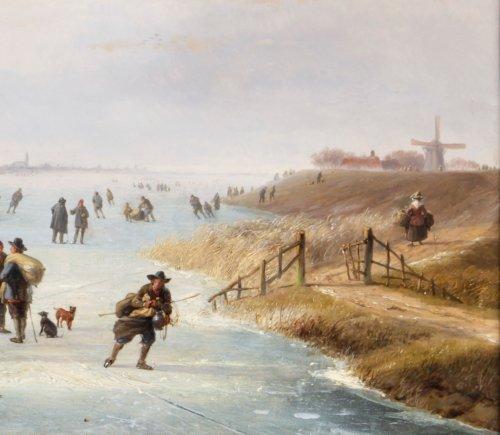 Paintings & Drawings  - Loading the cattle - Albert Roosenboom and Eugène Verboekchoven