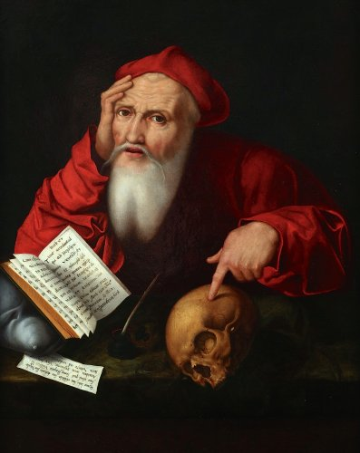 Saint Jerome - Flemish school 16th century