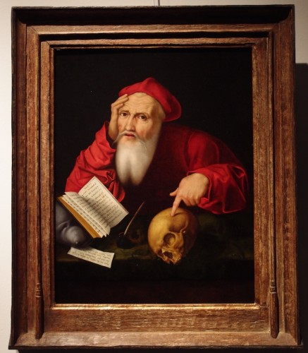 16th century - Saint Jerome - Flemish school 16th century