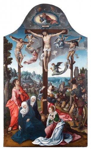 16th century - The Lamentation - Antwerp 16th century