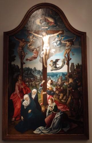 The Lamentation - Antwerp 16th century -