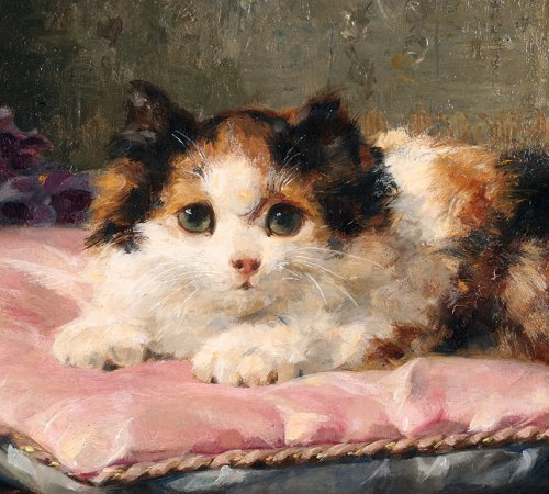 Happier then a prince - Charles van den Eycken (1859 - 1923) - Paintings & Drawings Style