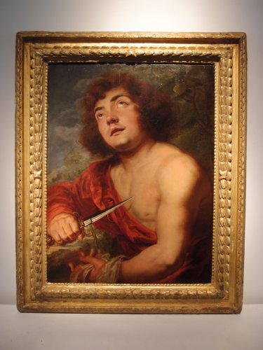 The grieving Pyramus - Jan Andries (Andrea) Lievens (1644-1680) - Paintings & Drawings Style