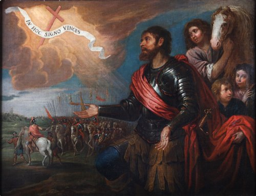 The victory of Constantin