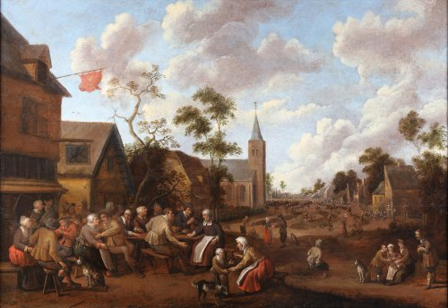 Joost Cornelisz. Droogsloot (Utrecht 1586-1666 Utrecht) - The village feast