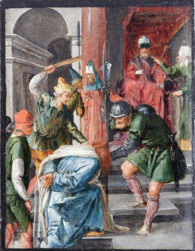 Attributed to Jan Symonsz Pynas - The flagellation