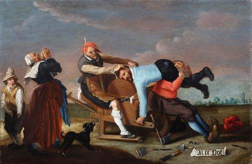 Too blunt - Flemish school, 17th century