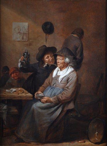 Joos van Craesbeeck (1606 - 1661) - Unequal love