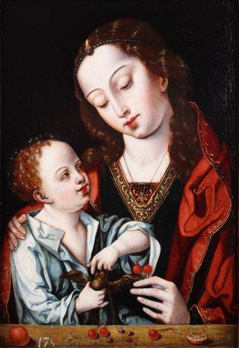 Virgin and Child - Flemish School, 16th century