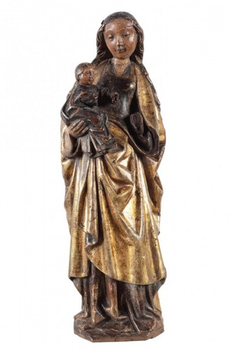 A group representing the Virgin holding the Christ Child - Malines, ca.1500