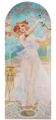 Dancing nymph - Fernand Toussaint (1873-1956 )