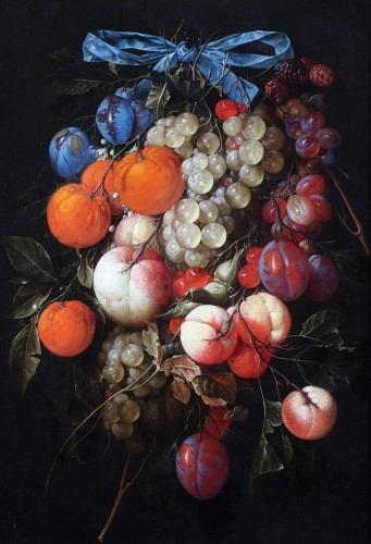 Cornelis de Heem (1631-1695)  - Still life with fruits