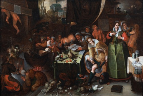 The witches' kitchen