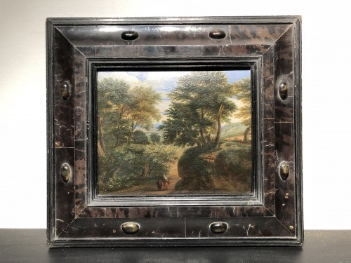 Lively Landscape - Flemish School of the 17th Century - Paintings & Drawings Style