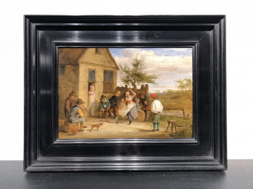 La Dance - Flemish school of the 17th century - Paintings & Drawings Style