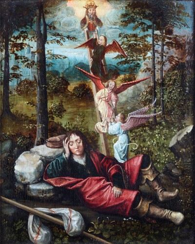 Jacob's dream - 16th century painting