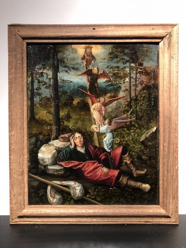Jacob's dream - 16th century painting - Paintings & Drawings Style