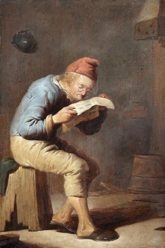 Reading - Benjamin Gerritszoon Cuyp (1612-1652)