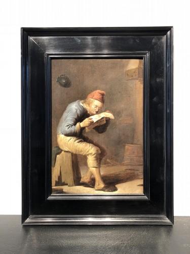 Reading - Benjamin Gerritszoon Cuyp (1612-1652) - Paintings & Drawings Style