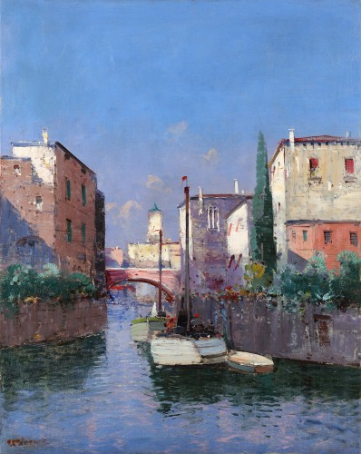Pierre Thevenet (1870 - 1937) - View of Venice