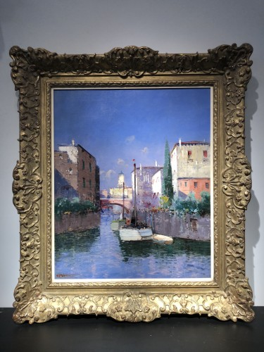Pierre Thevenet (1870 - 1937) - View of Venice - Paintings & Drawings Style
