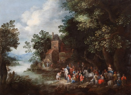 The Baptism by Johannes Jakob Hartmann (1658-1730)