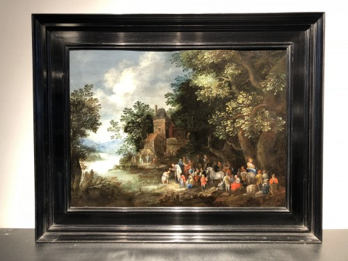 The Baptism by Johannes Jakob Hartmann (1658-1730) - Paintings & Drawings Style