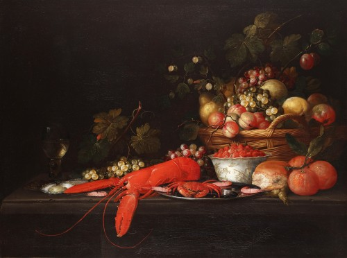 Still life with lobster - Pseudo-Simons