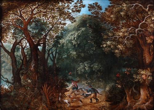 Abraham Govaerts (1589 - 1626) - Wild boar hunting