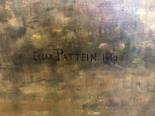 Paintings & Drawings  - César Pattein (1850-1931)