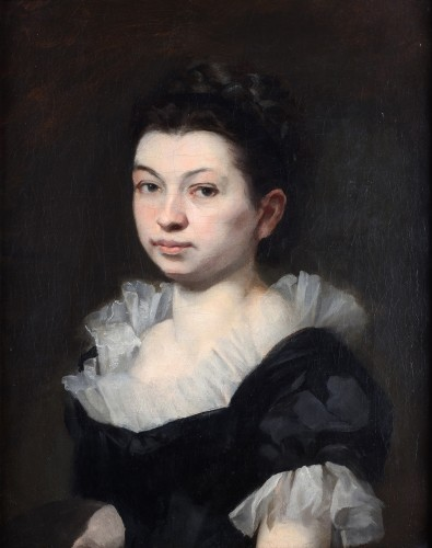 Portrait of woman circa 1800