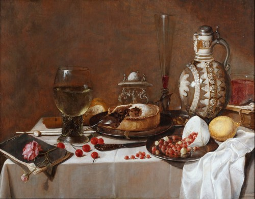 Still life - Circle of Pieter Claesz