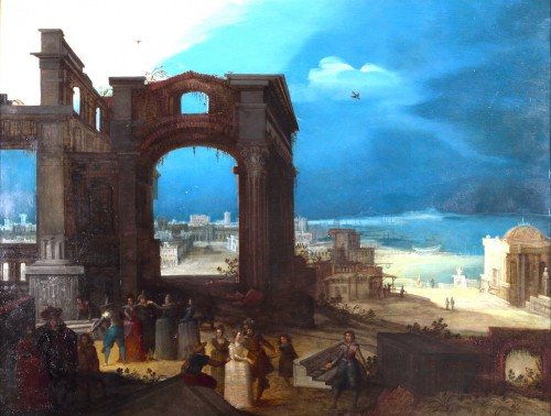 Louis de Caullery (1555-1622 - The old ruines of Rome
