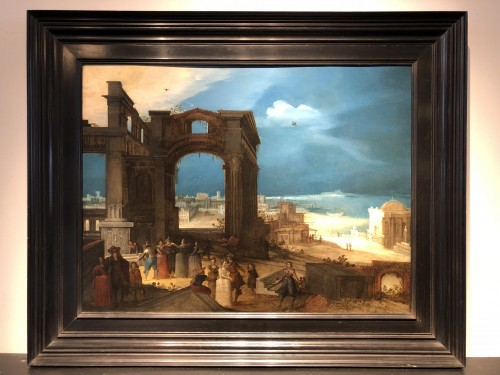 Louis de Caullery (1555-1622 - The old ruines of Rome - Paintings & Drawings Style