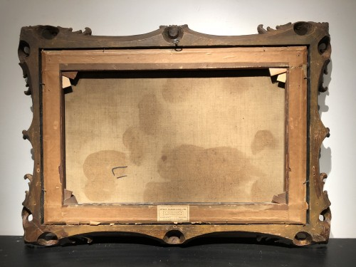 Paintings & Drawings  - Johannes Bartholomeus Duntze (1825-1895) - Ice skaters