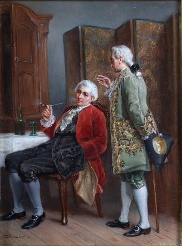 Léon Dansaert (1830-1909) - Joy of living