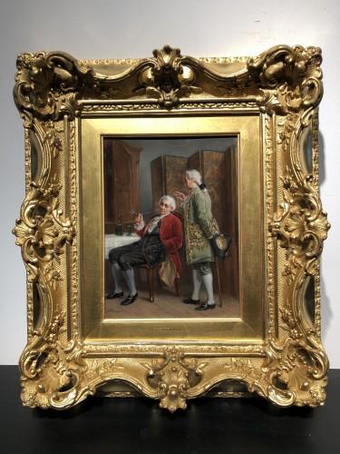 Léon Dansaert (1830-1909) - Joy of living - Paintings & Drawings Style