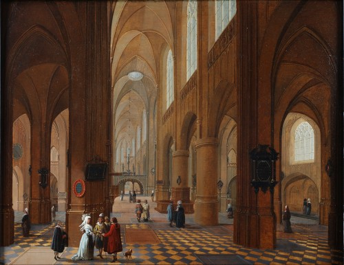 Church interior - Pieter Neefs I (attributed to)