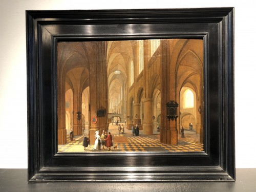 Paintings & Drawings  - Church interior - Pieter Neefs I (attributed to)