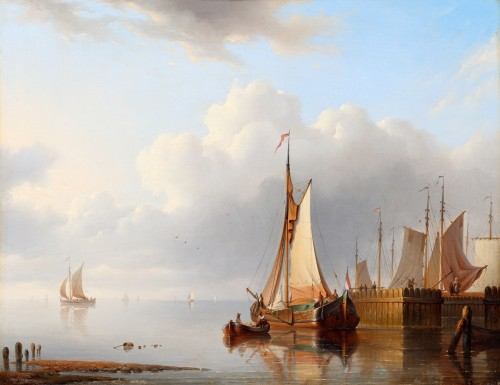 Hermanus Koekkoek (1815-1882) - Marine painting