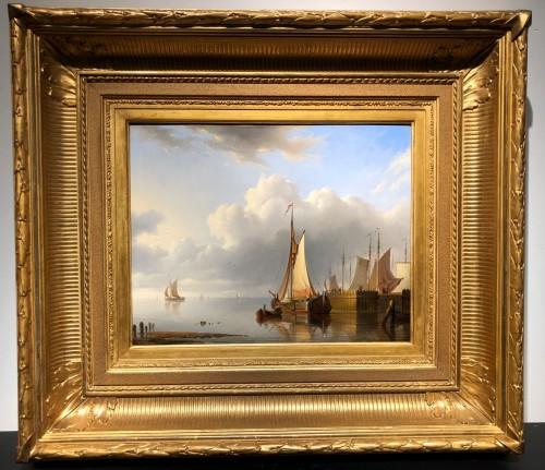 Hermanus Koekkoek (1815-1882) - Marine painting - Paintings & Drawings Style
