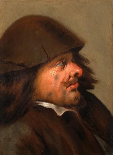 Joos van Craesbeeck (1605-1605), attributed to - Man's Head