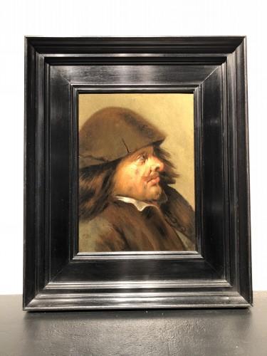 Paintings & Drawings  - Joos van Craesbeeck (1605-1605), attributed to - Man's Head